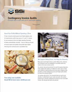 SSI Contingency Invoice Audits